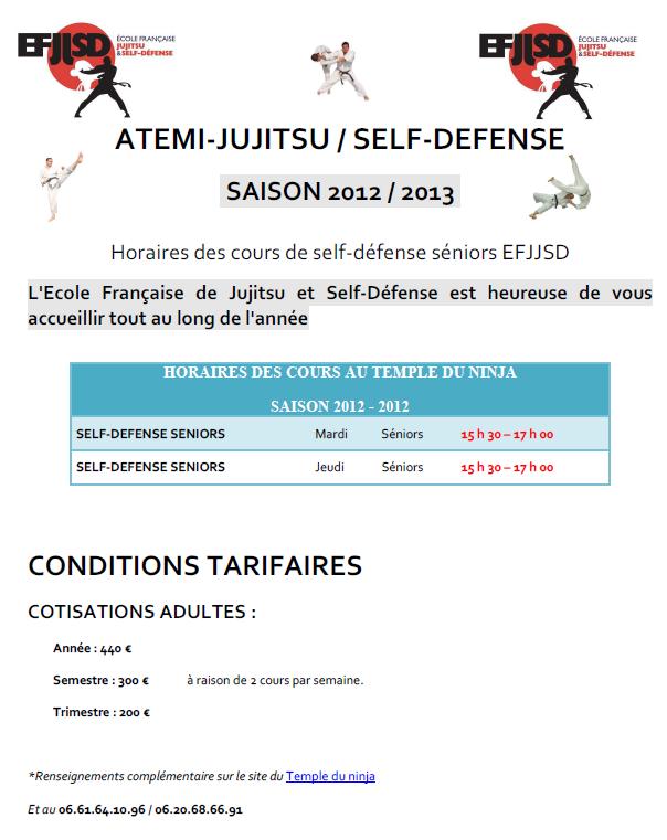planning cours seniors-efjjsd 2012-2013