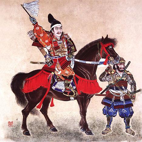 samourai--cheval