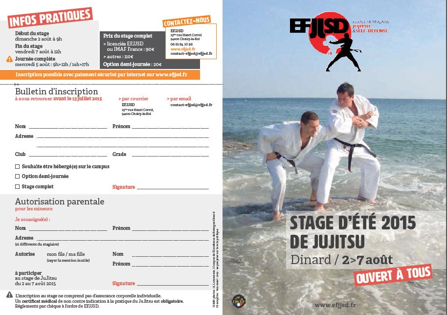 Jujitsu stage d ete dinard aout 2015 efjjsd imaf france page 1