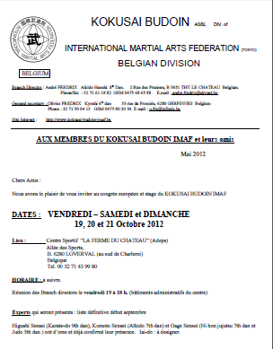 invitation stage imaf france conditions