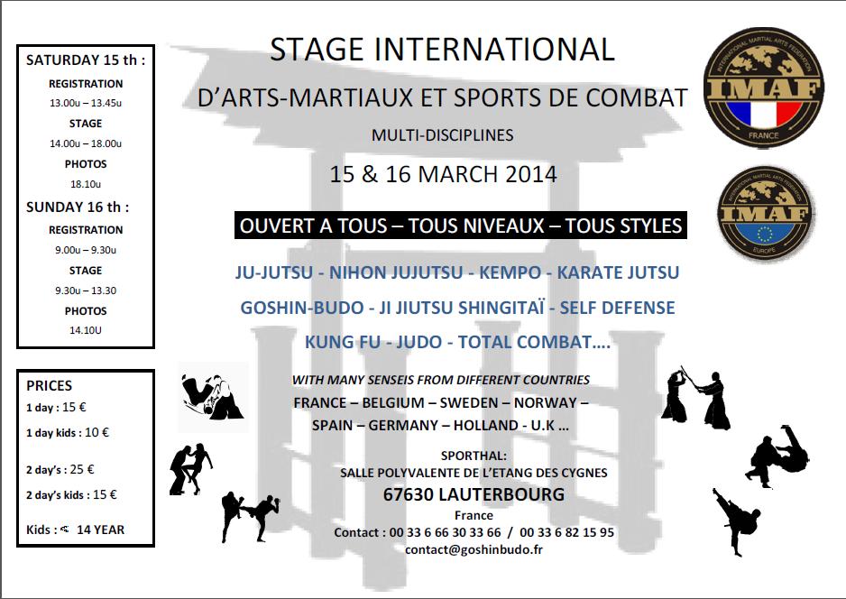 affiche-stage-imaf-france-15-et-16-mars-2014