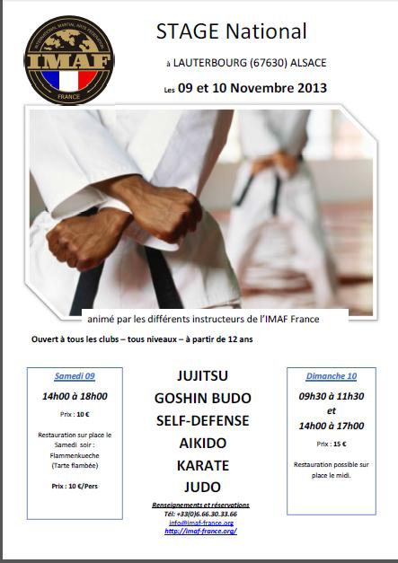 affiche-stage-imaf-lauterbourg-9-10-novembre-2013